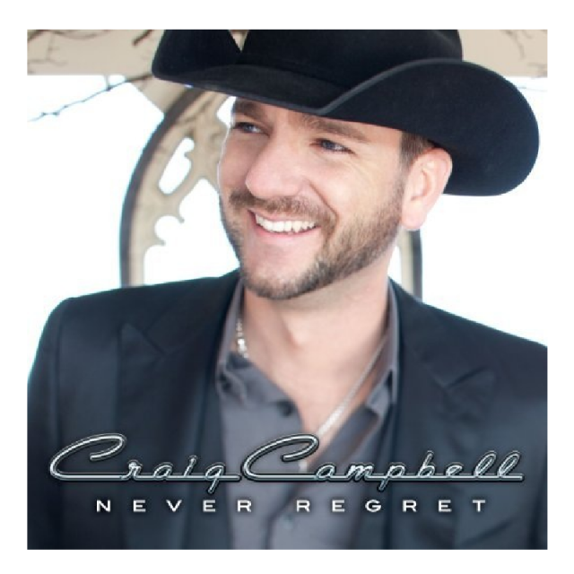 Craig Campbell CD- Never Regret