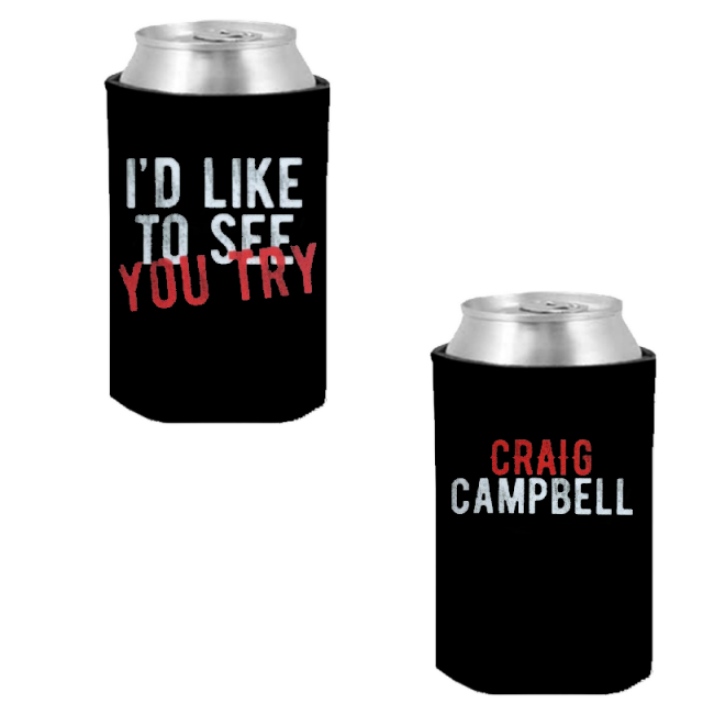 Craig Campbell Black Can Coolie